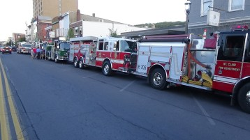 Apparatus Parade during Citz Fest, Citizens Fire Company, Mahanoy City, 8-21-2015 (61)