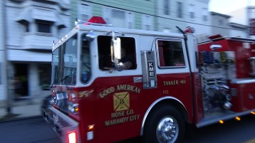 Apparatus Parade during Citz Fest, Citizens Fire Company, Mahanoy City, 8-21-2015 (90)