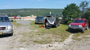 Day 3 of Search for Jesse Rex Farber, Sharp Mountain, Tamaqua, 8-15-2015 (2)