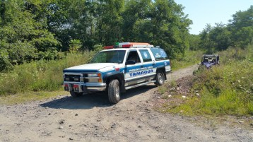 Day 3 of Search for Jesse Rex Farber, Sharp Mountain, Tamaqua, 8-15-2015 (3)