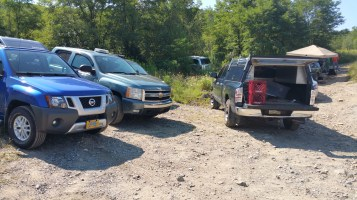 Day 3 of Search for Jesse Rex Farber, Sharp Mountain, Tamaqua, 8-15-2015 (4)