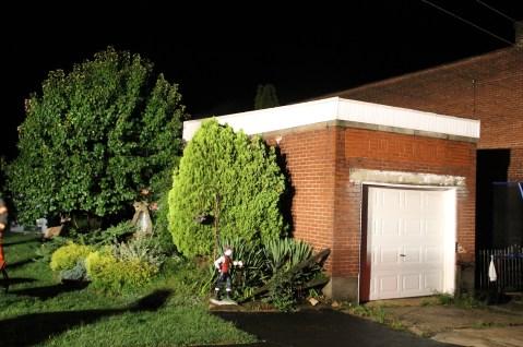 Firefighters Respond to Garage Fire in Coaldale, 8-20-2015 (205)