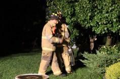 Firefighters Respond to Garage Fire in Coaldale, 8-20-2015 (217)
