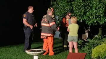 Firefighters Respond to Garage Fire in Coaldale, 8-20-2015 (4)