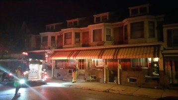 Fuel Oil Spill in Basement of Condemned Property, 417 Pine, Tamaqua (19)