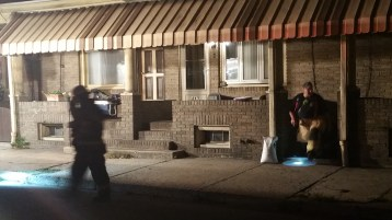 Fuel Oil Spill in Basement of Condemned Property, 417 Pine, Tamaqua (30)