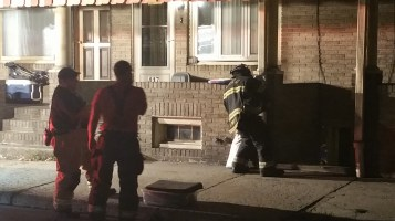 Fuel Oil Spill in Basement of Condemned Property, 417 Pine, Tamaqua (38)
