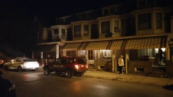 Fuel Oil Spill in Basement of Condemned Property, 417 Pine, Tamaqua (4)