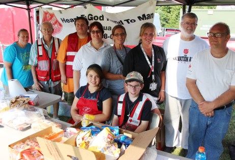 Tamaqua Salvation Army and American Red Cross