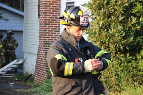 House Fire, 14 West Cherry Street, Tresckow, 8-17-2015 (109)