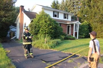 House Fire, 14 West Cherry Street, Tresckow, 8-17-2015 (110)