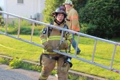 House Fire, 14 West Cherry Street, Tresckow, 8-17-2015 (118)