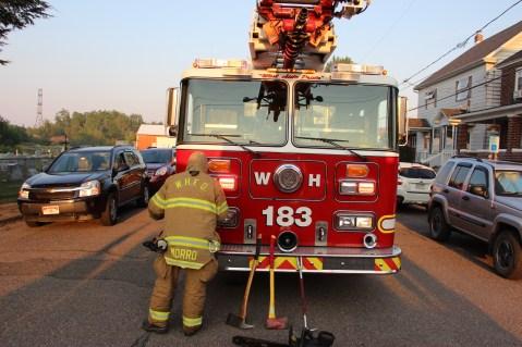 House Fire, 14 West Cherry Street, Tresckow, 8-17-2015 (12)
