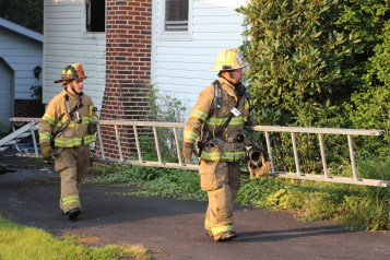 House Fire, 14 West Cherry Street, Tresckow, 8-17-2015 (133)