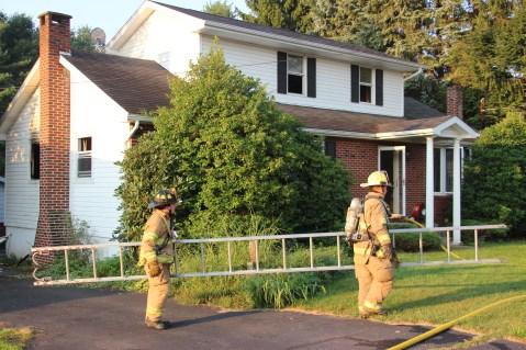 House Fire, 14 West Cherry Street, Tresckow, 8-17-2015 (134)