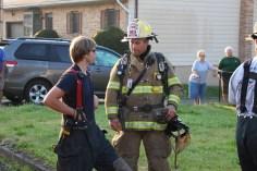 House Fire, 14 West Cherry Street, Tresckow, 8-17-2015 (151)