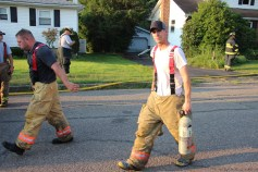 House Fire, 14 West Cherry Street, Tresckow, 8-17-2015 (161)
