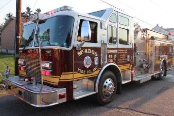House Fire, 14 West Cherry Street, Tresckow, 8-17-2015 (165)