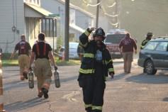 House Fire, 14 West Cherry Street, Tresckow, 8-17-2015 (171)