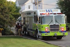 House Fire, 14 West Cherry Street, Tresckow, 8-17-2015 (173)