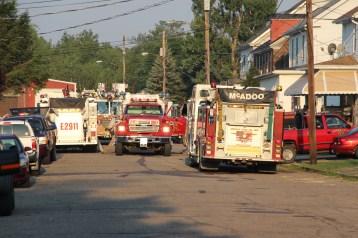 House Fire, 14 West Cherry Street, Tresckow, 8-17-2015 (176)