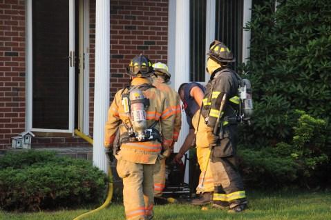 House Fire, 14 West Cherry Street, Tresckow, 8-17-2015 (23)