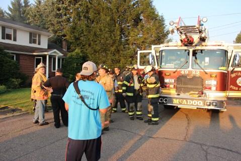 House Fire, 14 West Cherry Street, Tresckow, 8-17-2015 (42)