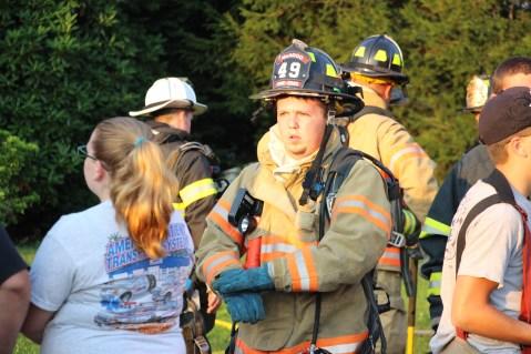 House Fire, 14 West Cherry Street, Tresckow, 8-17-2015 (45)