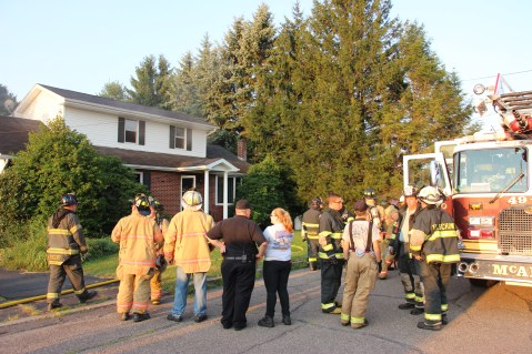 House Fire, 14 West Cherry Street, Tresckow, 8-17-2015 (56)