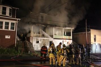 House Fire, 40-42 West Water Street, US209, Coaldale, 8-4-2015 (163)