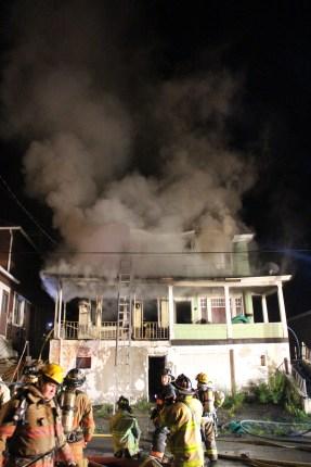 House Fire, 40-42 West Water Street, US209, Coaldale, 8-4-2015 (196)