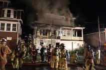 House Fire, 40-42 West Water Street, US209, Coaldale, 8-4-2015 (199)