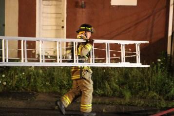 House Fire, 40-42 West Water Street, US209, Coaldale, 8-4-2015 (215)