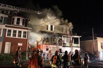 House Fire, 40-42 West Water Street, US209, Coaldale, 8-4-2015 (234)