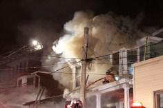 House Fire, 40-42 West Water Street, US209, Coaldale, 8-4-2015 (249)