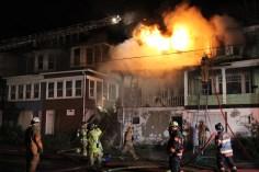 House Fire, 40-42 West Water Street, US209, Coaldale, 8-4-2015 (260)