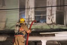 House Fire, 40-42 West Water Street, US209, Coaldale, 8-4-2015 (302)