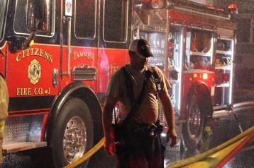 House Fire, 40-42 West Water Street, US209, Coaldale, 8-4-2015 (391)