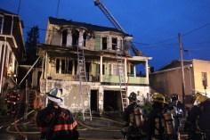 House Fire, 40-42 West Water Street, US209, Coaldale, 8-4-2015 (425)