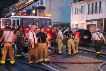 House Fire, 40-42 West Water Street, US209, Coaldale, 8-4-2015 (436)