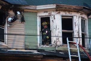 House Fire, 40-42 West Water Street, US209, Coaldale, 8-4-2015 (465)