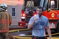 House Fire, 40-42 West Water Street, US209, Coaldale, 8-4-2015 (504)