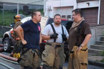 House Fire, 40-42 West Water Street, US209, Coaldale, 8-4-2015 (507)
