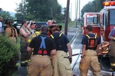 House Fire, 40-42 West Water Street, US209, Coaldale, 8-4-2015 (509)