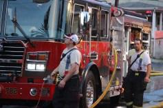 House Fire, 40-42 West Water Street, US209, Coaldale, 8-4-2015 (512)