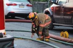 House Fire, 40-42 West Water Street, US209, Coaldale, 8-4-2015 (514)