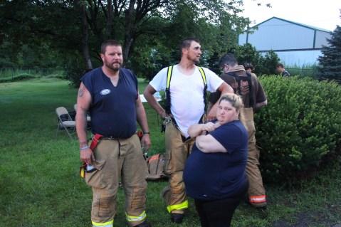 House Fire, 40-42 West Water Street, US209, Coaldale, 8-4-2015 (516)