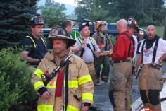 House Fire, 40-42 West Water Street, US209, Coaldale, 8-4-2015 (528)