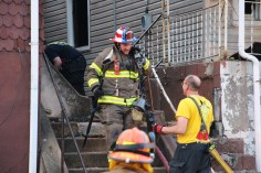 House Fire, 40-42 West Water Street, US209, Coaldale, 8-4-2015 (558)