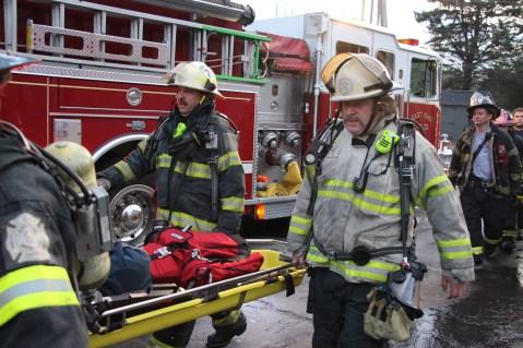 House Fire, 40-42 West Water Street, US209, Coaldale, 8-4-2015 (573)